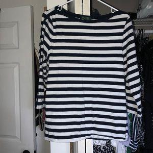 Classic Lauren by Ralph Lauren striped top